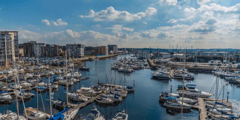 Ipswich harbour.